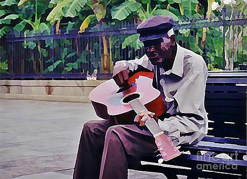 John Malone - Blues Guitar Player in New Orleans