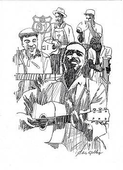 Bluesmen by J W Kelly