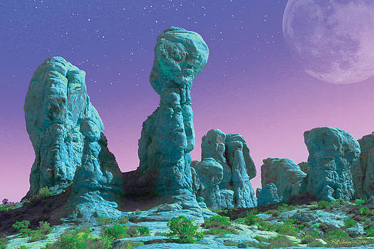 Bluestone Shrine by Bill Jonas