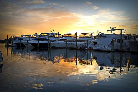 Bluewater Sunset by Phil Mancuso