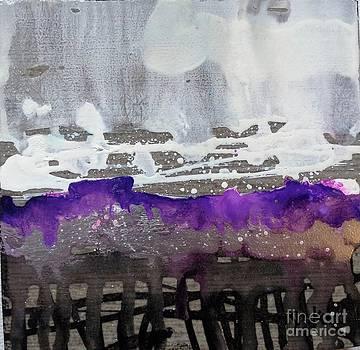 Blurred Fence by Yolanda Koh