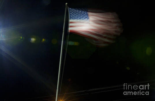 Jonathan Welch - Blurry Flag