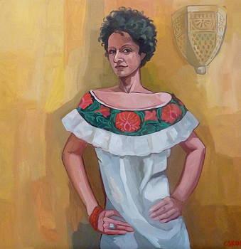 Bluza mexicana by Carmen Stanescu Kutzelnig