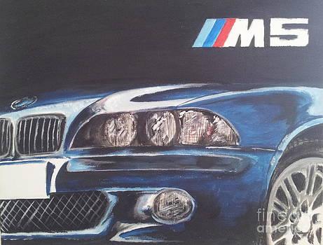 Bmw M5 by Erik Axebrink