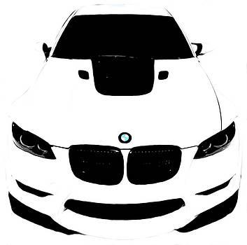 BMW White by J Anthony