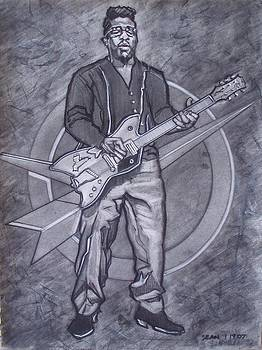 Bo Diddley - Have Guitar Will Travel by Sean Connolly