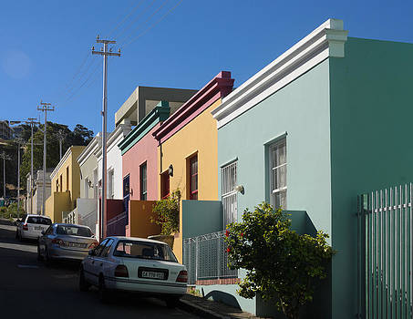 Bo Kaap houses by Paul Indigo