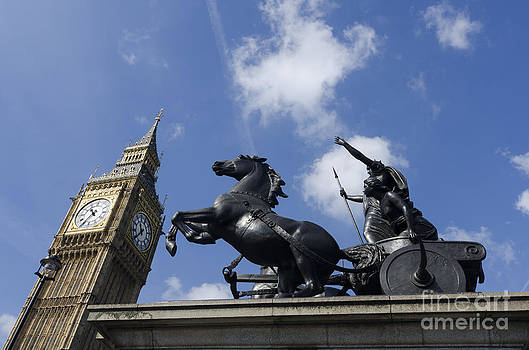 Boadecia and Big Ben by Steev Stamford
