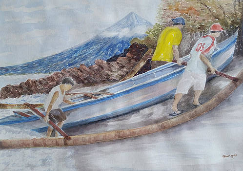 Boat ashore by Sonia Rodriguez