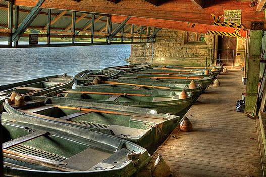 Stephen Barrie - Boat House at Blenheim