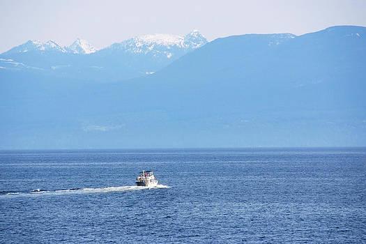 Devinder Sangha - Boat in Lake