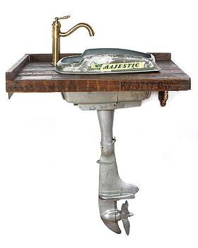 Boat Motor Vanity by Benjamin Bullins