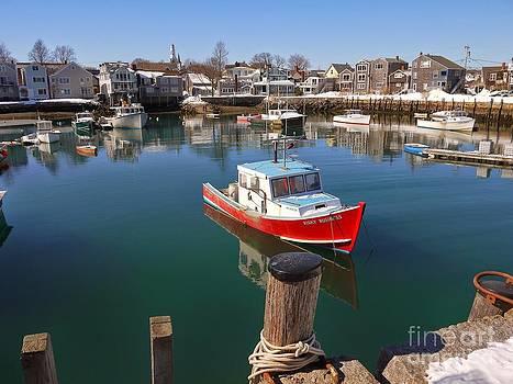 Boat  by Nancie DeMellia