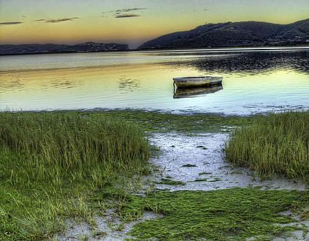 Boat on Lagoon by Ben Osborne