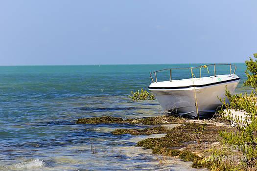 Sophie Vigneault - Boat on Shore