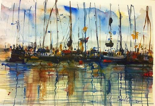 Boat rhythm2 by David Obi