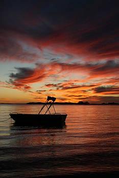 Boat Silhouette by Carl Koenig