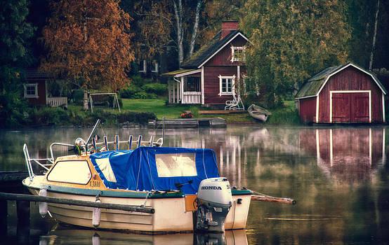 Boathouse by Matti Ollikainen