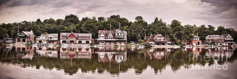 Boathouse Row by Stacey Granger