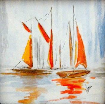 Boating by Nancy Nuce
