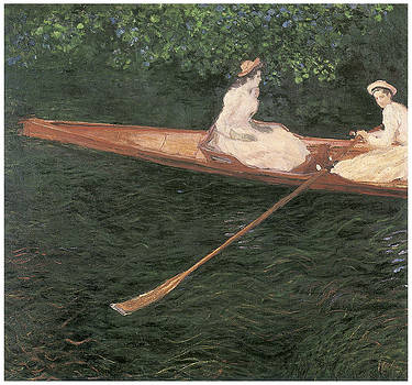 Claude Monet - Boating on the Epte