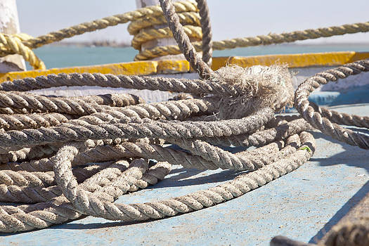 Kantilal Patel - Boating Ropes at Bet Dwarka