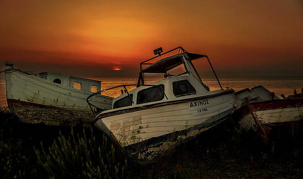 Boats by Alastair Graham