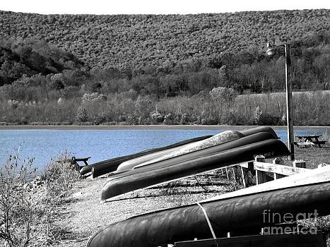 Boats At Rest by Chad Thompson