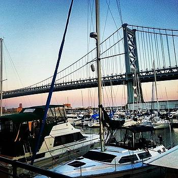 #boats #bridge #igers_philly by Philip Grant