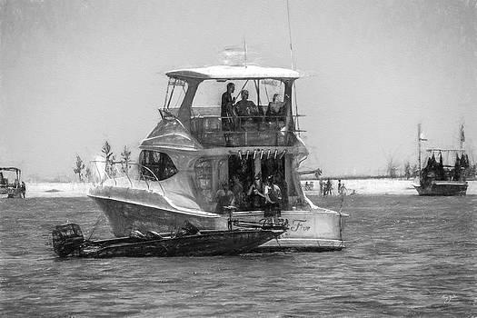 Barry Jones - Boats - Coastal - Day at the Island