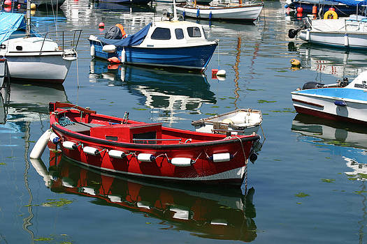 Boats by Gillian Dernie