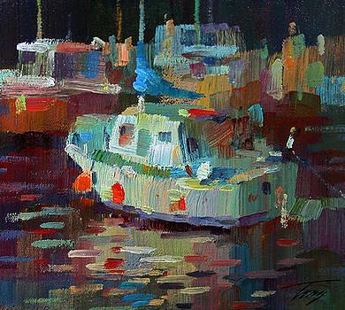 Boats Harbor by Tony Song