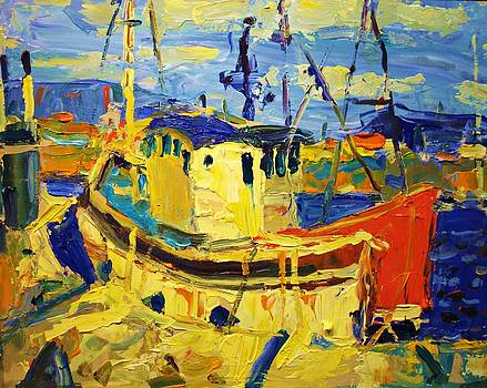 Boats Ii by Brian Simons