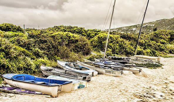 Boats in a Row by Ben Osborne