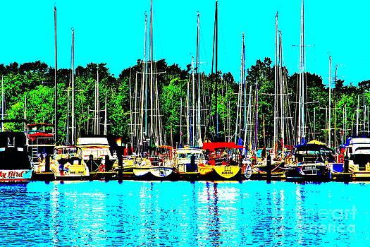 Boats by Jay Nodianos