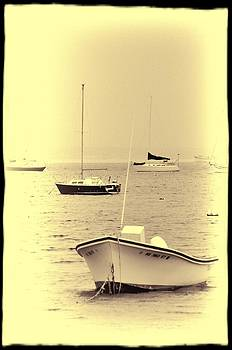 Boats of Provincetown by Jes Fritze