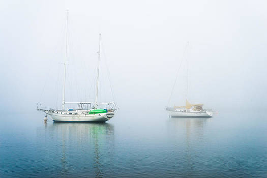 Priya Ghose - Boats On A Foggy Morning