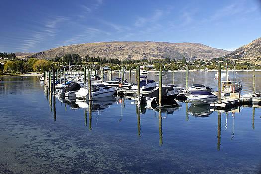 Venetia Featherstone-Witty - Boats on Lake Wanaka