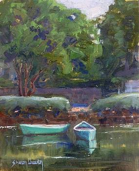 Boats on the Canal by Sharon Weaver