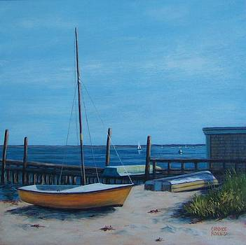 Boats Provincetown by Candice Ronesi
