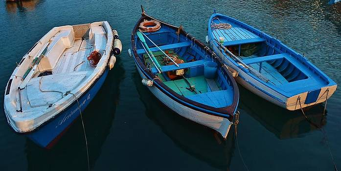 Boats Trio by Dany Lison