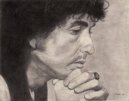 Bob Dylan 3 by Glenn Daniels