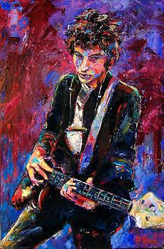 Bob Dylan by Debra Hurd