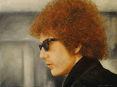Bob Dylan III by David Dunne