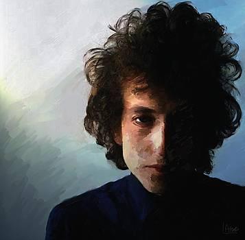 Bob Dylan by Les Allsopp
