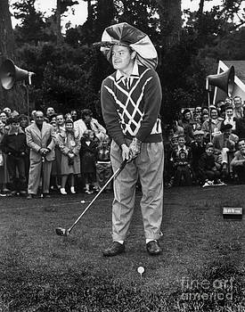 California Views Mr Pat Hathaway Archives - Bob Hope at Bing Crosby National Pro-Am Golf Championship  Pebble Beach circa 1955