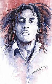 Bob Marley 3 by Yuriy  Shevchuk