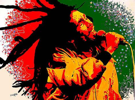 Bob Marley 36 by Jack Hanzer Susco