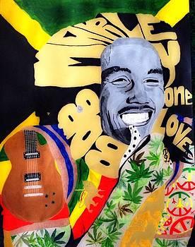 Bob Marley  by Estelle BRETON-MAYA