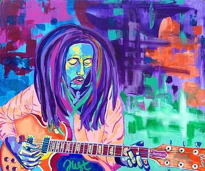 Bob Marley by Janice Westfall